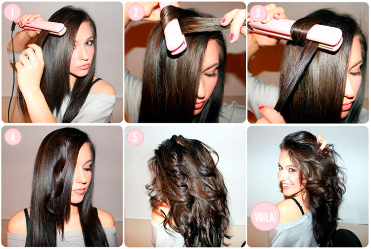 Как сделать волны на волосах без