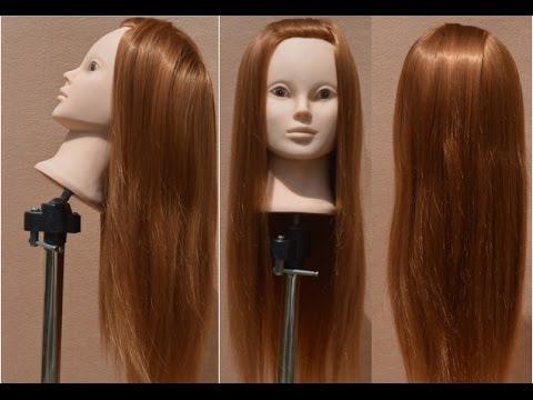 Как мыть голову манекен для причесок