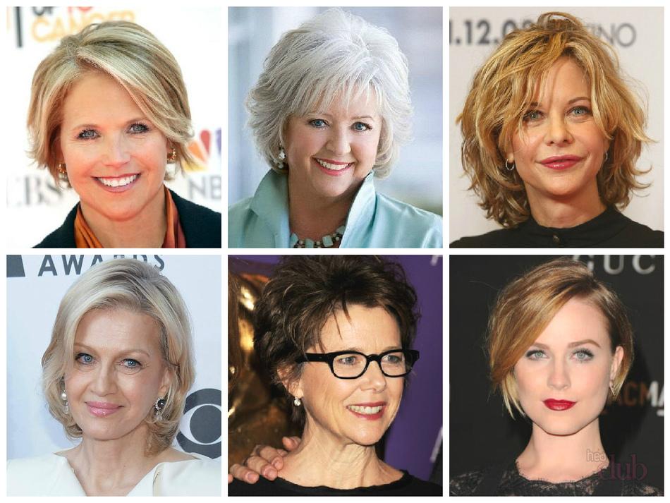 Прически в 50 лет женские