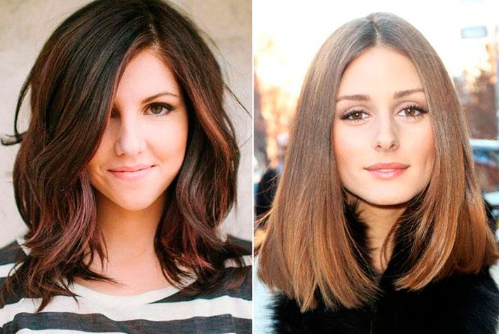 Причёски для овальной формы лица фото