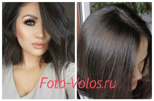 темно русый фото волос