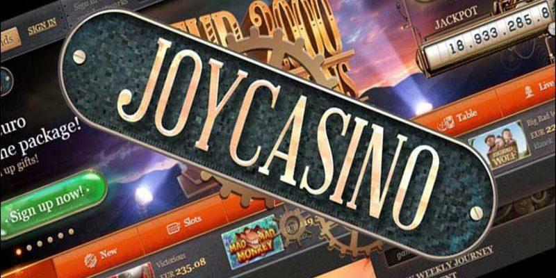 Joycasino зайти на официальный сайт